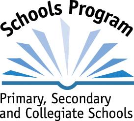 Schools program blue