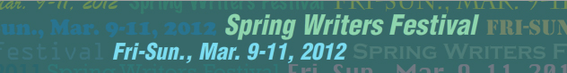 UWM Spring Writers Festival