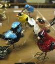 enamel birds
