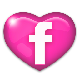FB Pink Heart logo