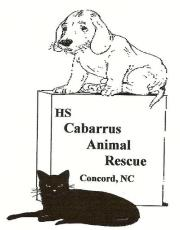 cabarrus animal rescue logo
