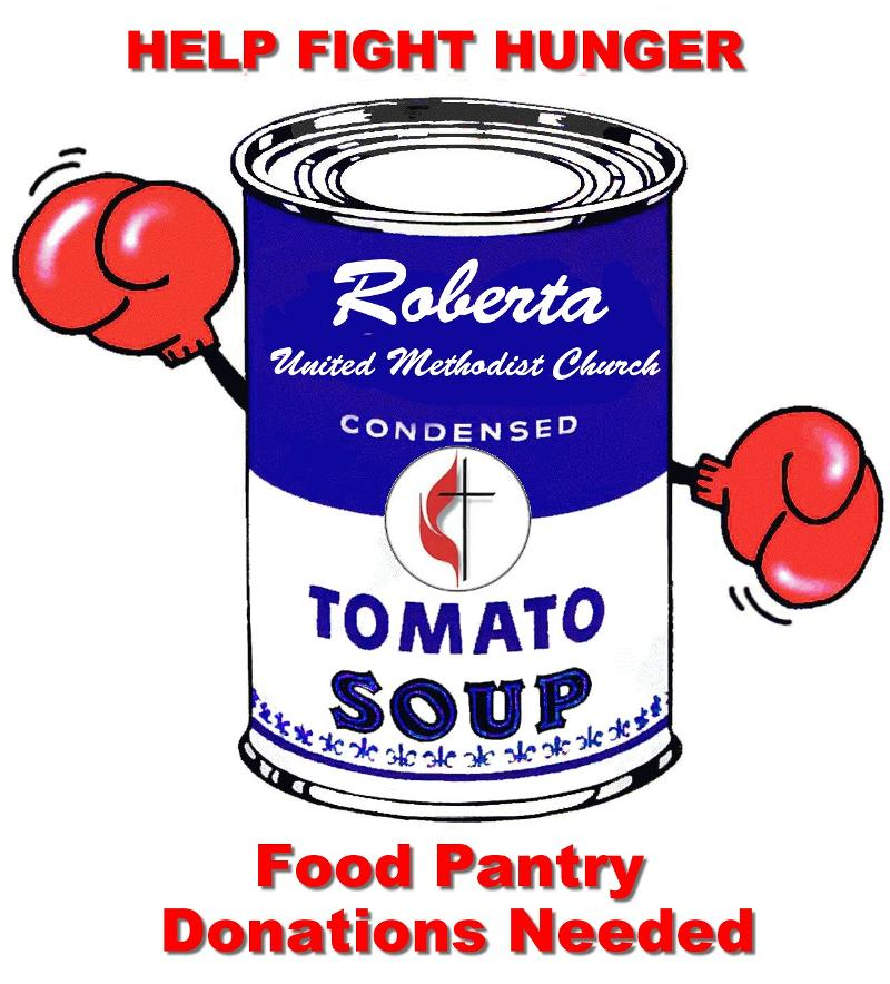 Food Pantry fight hunger can