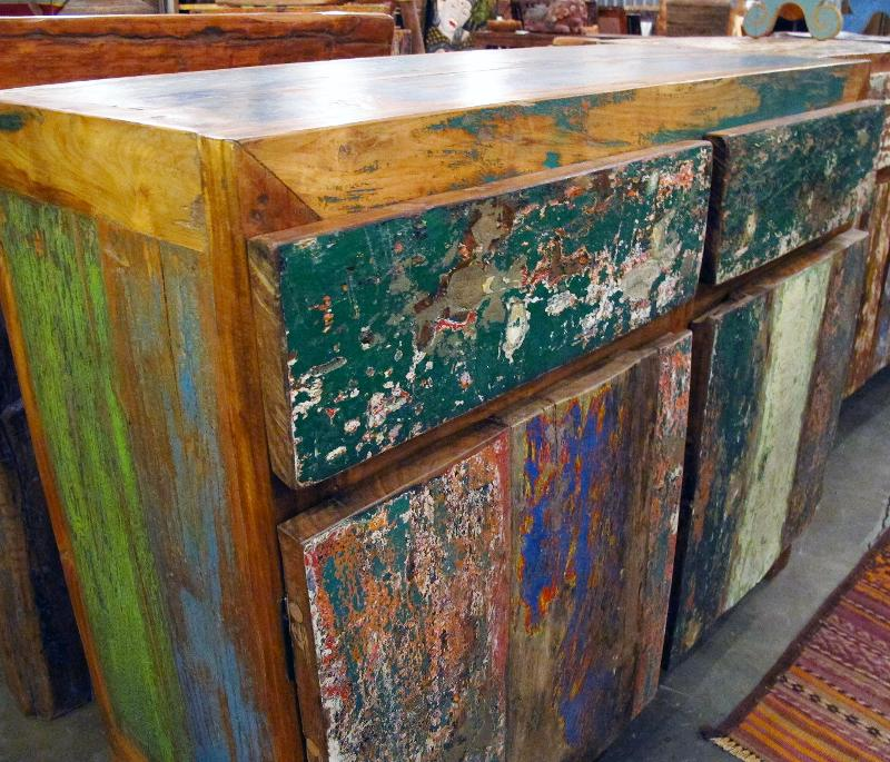 Reclaimed Boat Wood Furniture