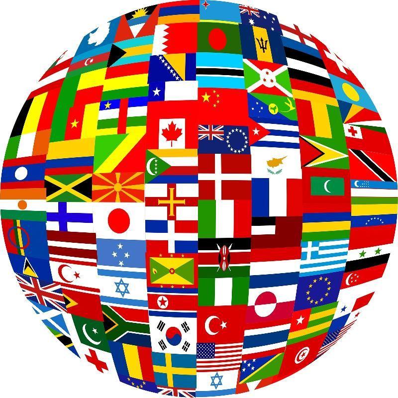 Flag Globe