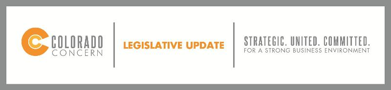Colorado Concern Legislative Update