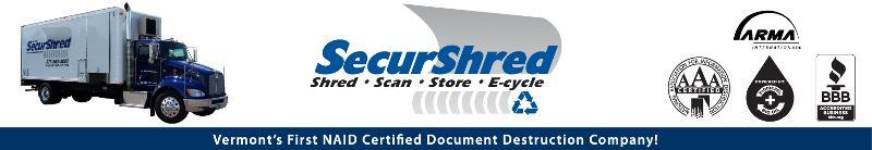 SecurShred Newsletter Header