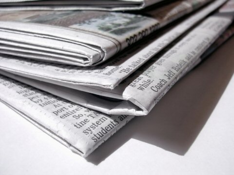 Newspaper - Top Border