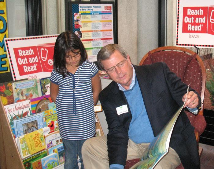 Congressman Latham ROR-Iowa Site Visit