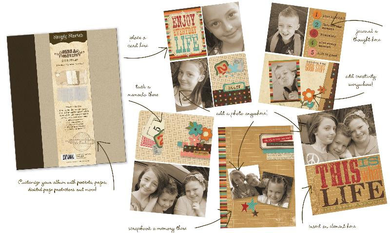 simple stories mix and match album