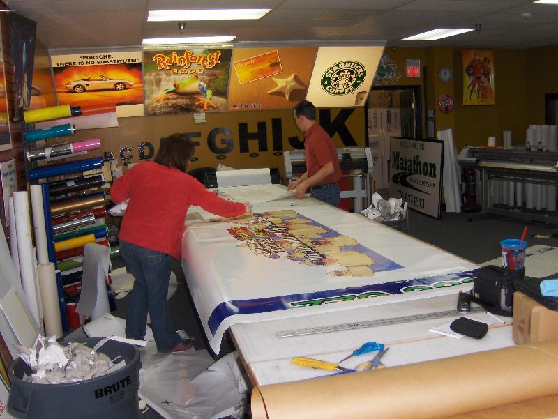 preparing car wrap