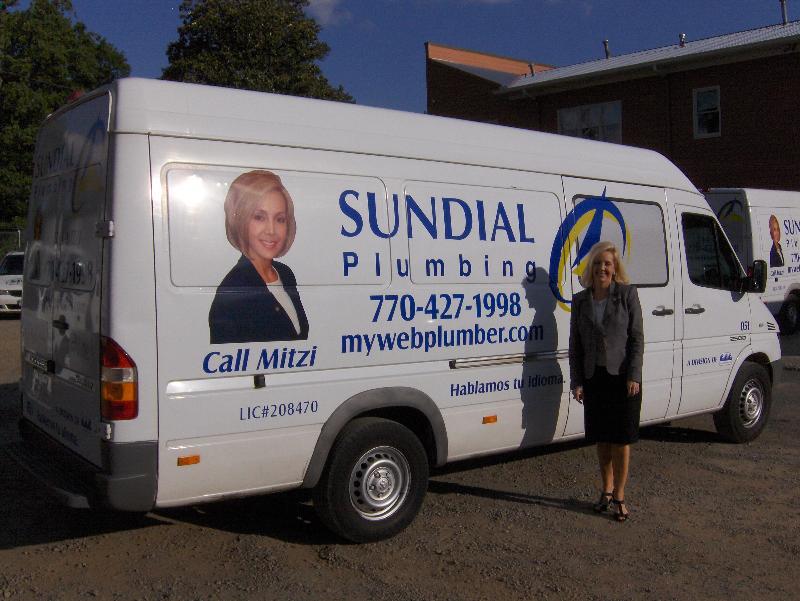 Mitzi Moore & Reflective Van