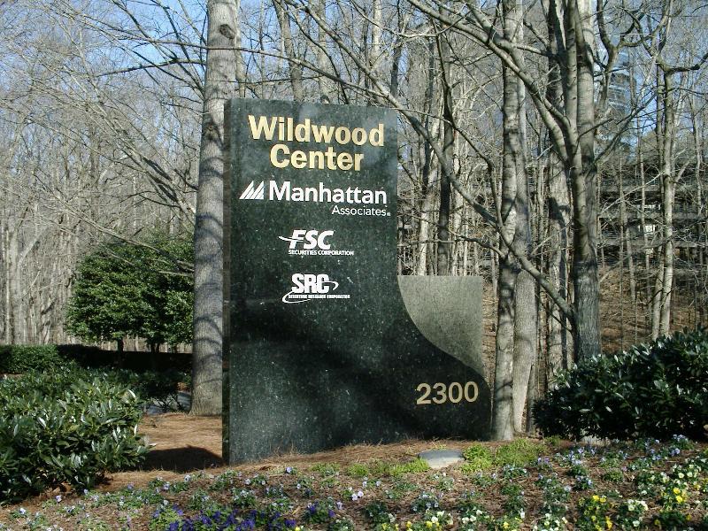 Granite Monument Sign