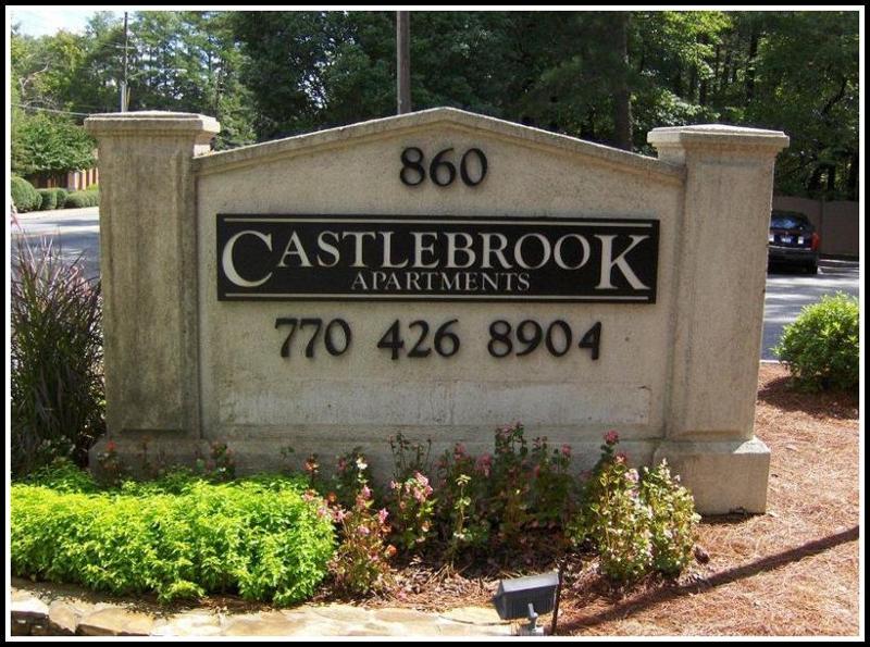 Castlebrook Monument Before