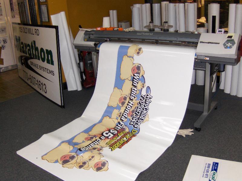 printing car wrap