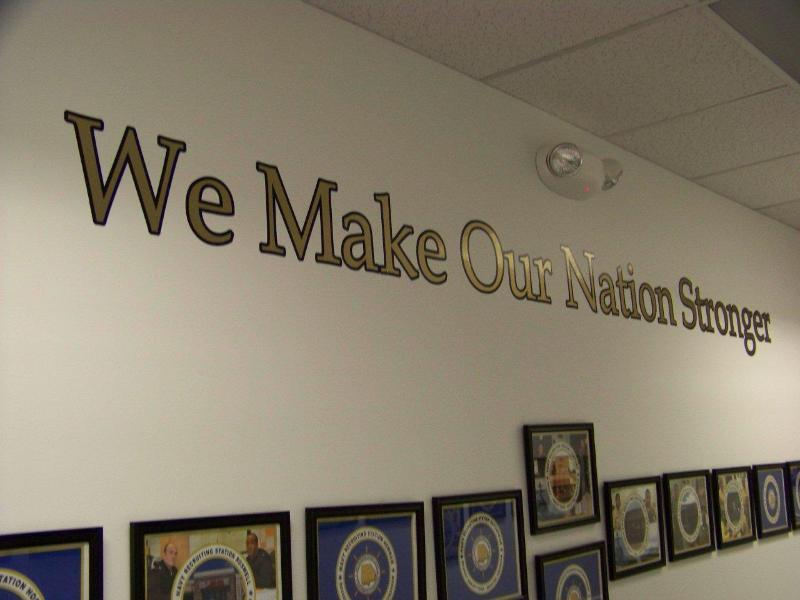 We make our nation stronger