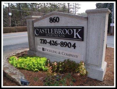 Castlebrook Monument After