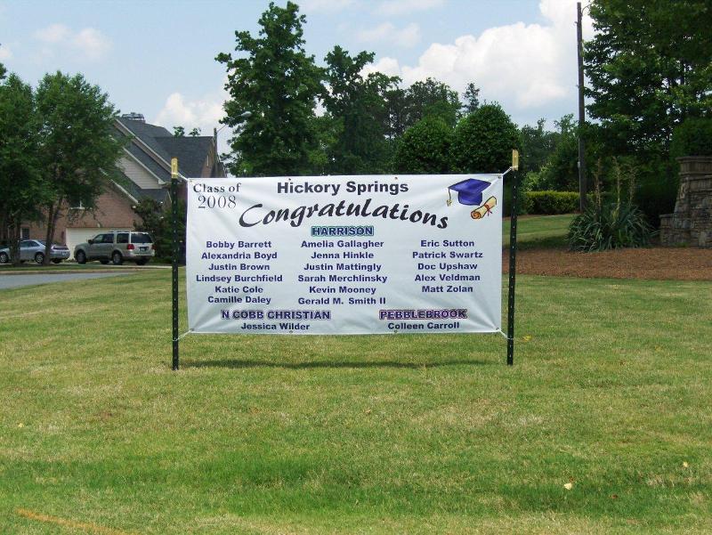 Neighborhood Graduation Banner