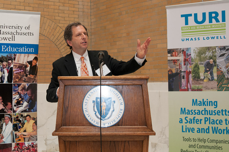 Commissioner David Cash, MassDEP