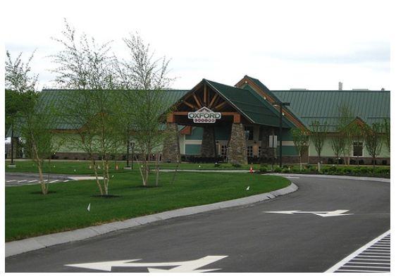 Oxford Maine Casino As Built 2012