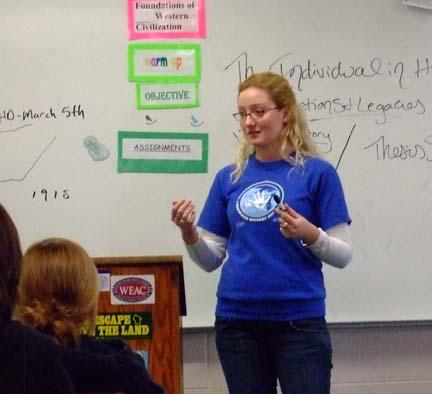 Sarah Michele Classroom Presentation