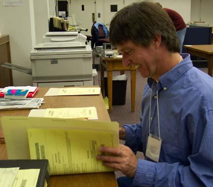 Teacher in Archives