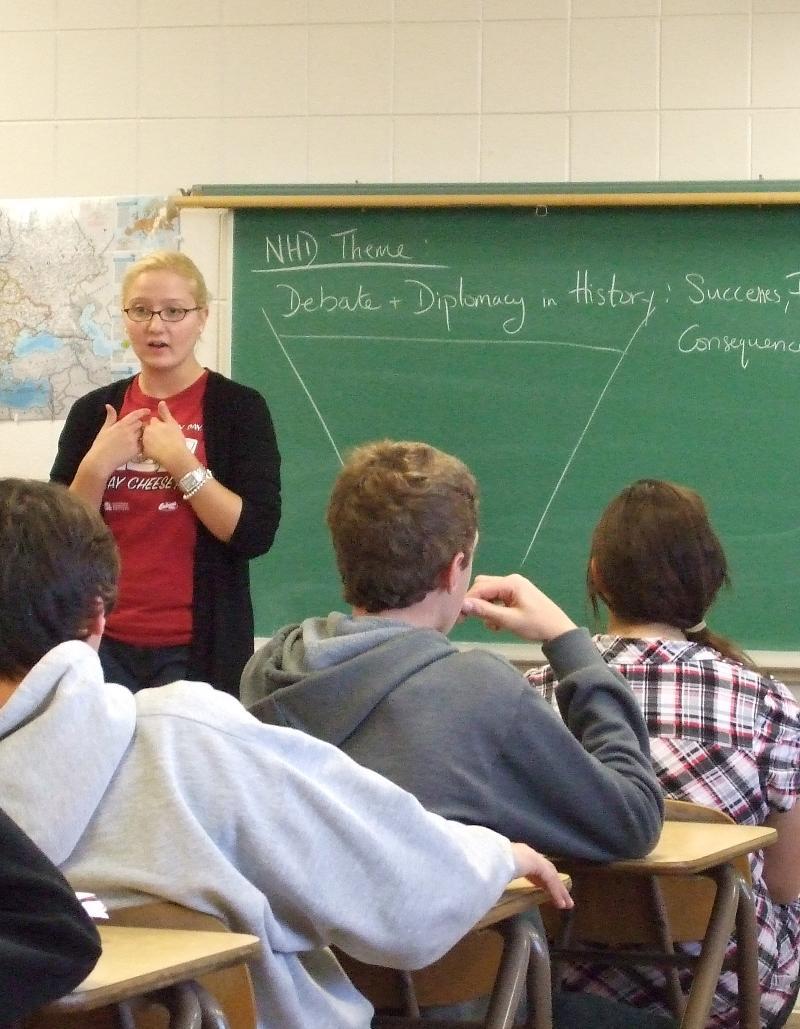 NHD Classroom Presentation