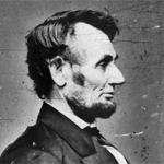 Image of Abraham Lincoln.  WHS Image ID 48683