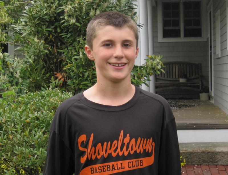 Andrew Thorson age 13