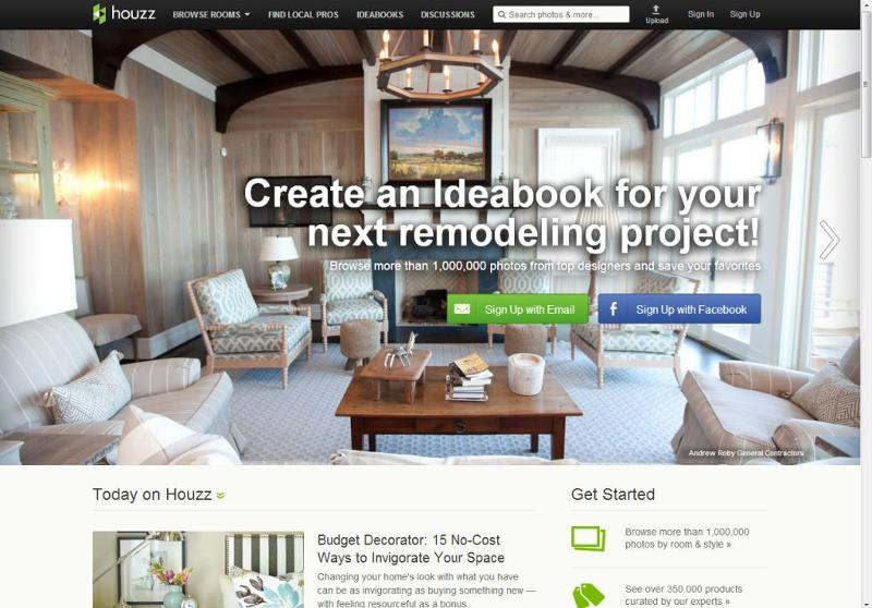 Houzz website