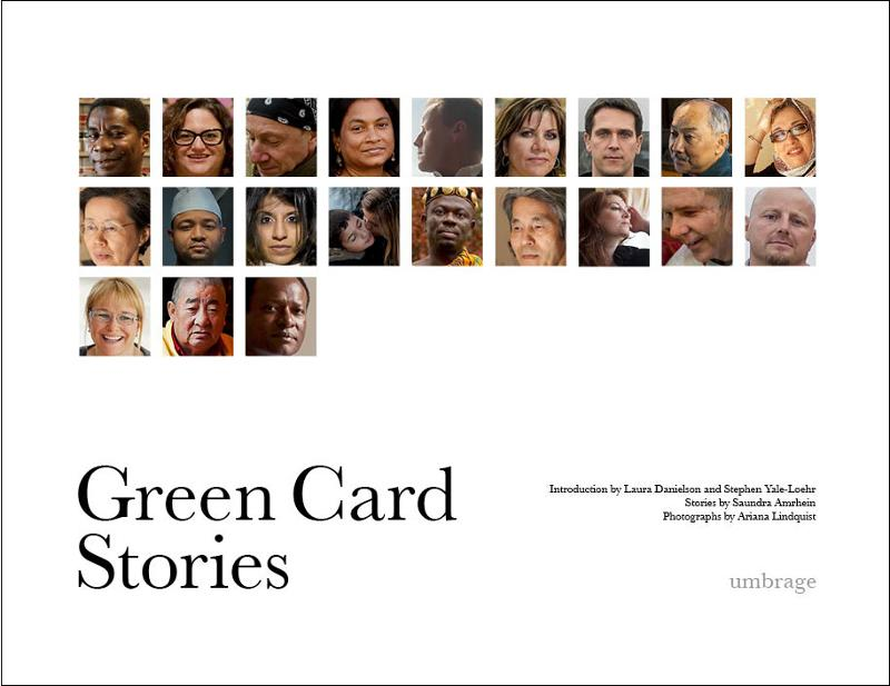 Display Images to View the Green Card Stories Cover
