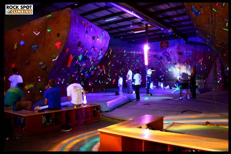 Black light bouldering and more come on down for bouldering in the black lights head lamp top rope climbing prizes music and cake aloadofball Choice Image