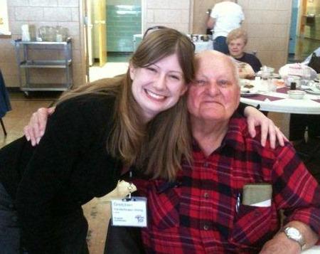 Gretchen with NEST elder
