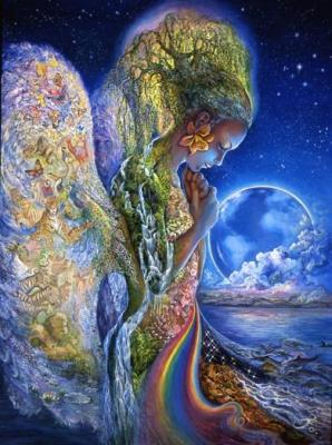 Rainbow Earth Goddess
