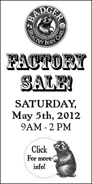 Factory Sale 2012