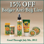 15% off anti-bug