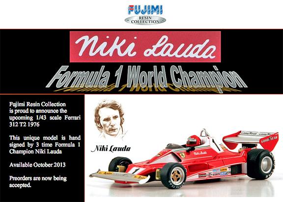 Fujimi Lauda 312 T2