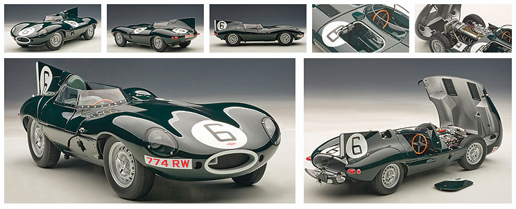 1/18 Jaguar D-Type