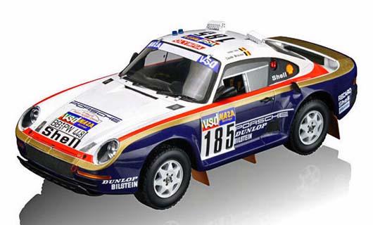 Dakar Porsche