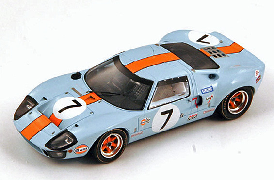 #7 Gulf Ford GT40