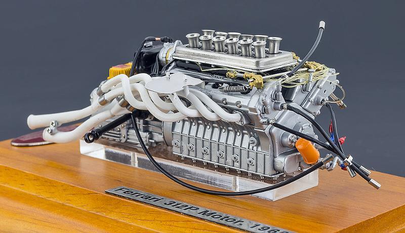 CMC Ferrari Engine
