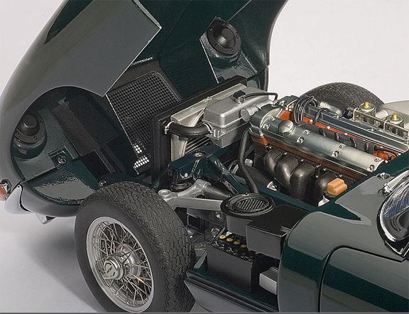 AA 1/18 Jag Engine