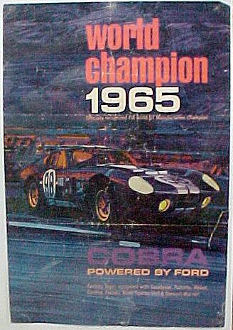 Cobra 1965 Poster