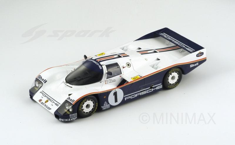 86 Rothmans Porsche - 1/18 Spark