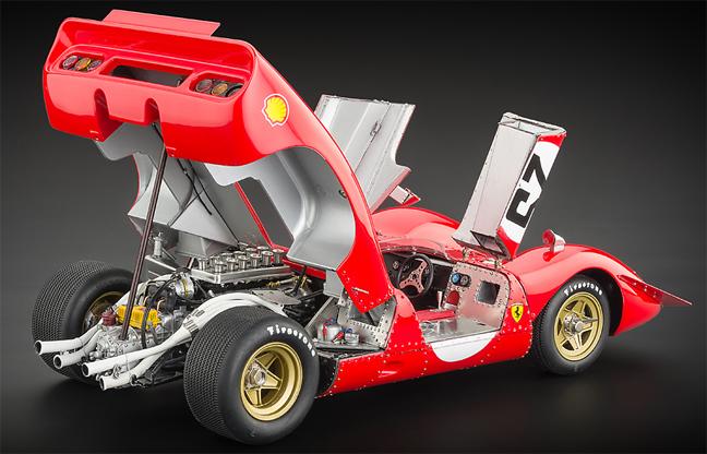 CMC Ferrari p4