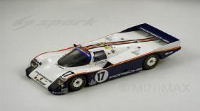 1/18 Spark - #17 Rothmans Porsche 87 LM