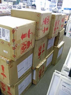 Lotus 33 Shipment