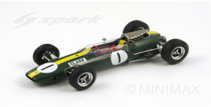 1/18 Spark - #1 Jim Clark Lotus 33