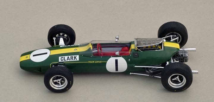 Clark Lotus 33 - Teaser