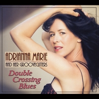 Double Crossing Blues album cover By Adrianna Marie