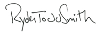 Ryder Todd Smith Signature